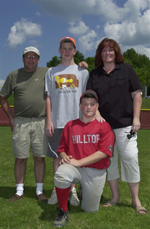Player and Family